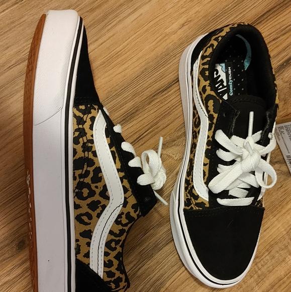 Vans animal print sneakers. Brand new in box